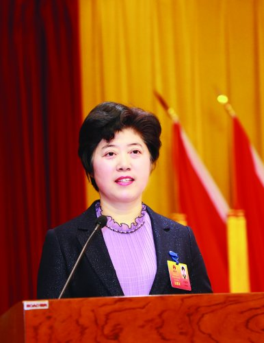 惠山區四屆人大五次會議舉行第二次全體會議