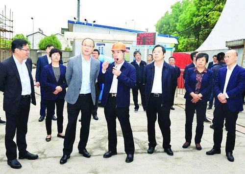 惠山區一季度重大項目觀摩暨經濟運行分析會